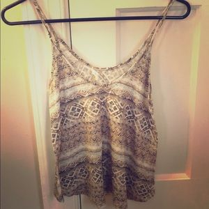 Soprano crop tank top from Nordstrom - XS